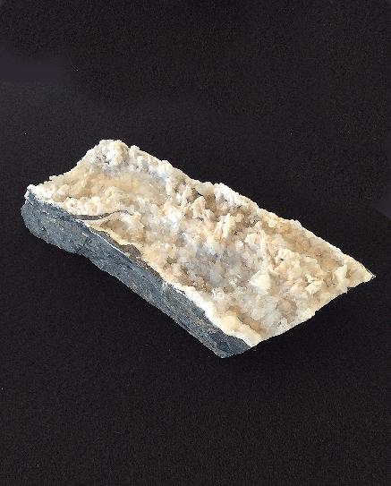 Quartz and Calcite on Limestone