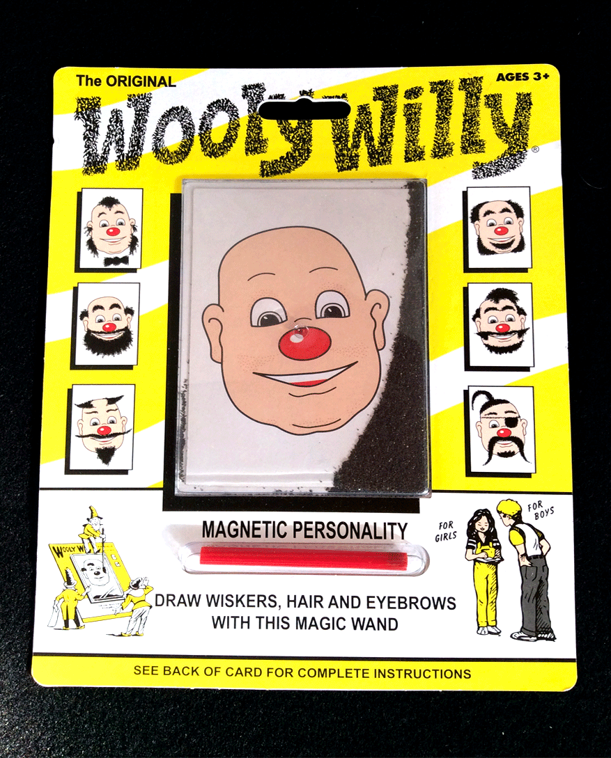 Magnetic Wooly Willy
